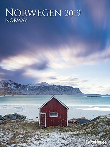 Norwegen 2019 - Posterkalender, Naturkalender, Landschaftskalender 2019  -  48 x 64 cm