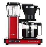 Moccamaster 59698 Kaffeemaschine, transparanter Wassertank mit klarer Volumenanzeige