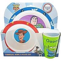 Disney 1425 1501AZ Toy Story Tableware, Polypropylene Plastic