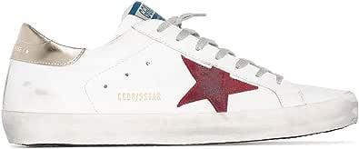 Golden Goose Luxury Fashion Uomo GMF00101F00035910285 Bianco Pelle Sneakers | Stagione Permanente