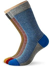 Greentreat Men's 3-Pack Calf Socks