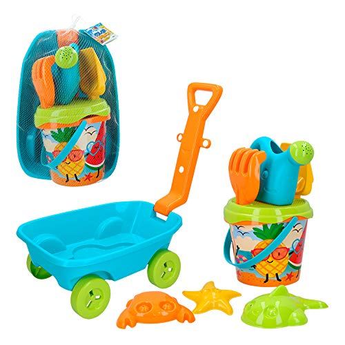 ColorBaby -  Set playa con Carretilla Cubo Palas24967