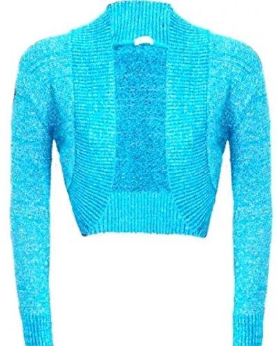 FLAVES FASHION - Boléro - Femme multicolore multicolore Turquoise