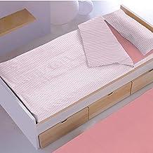Saco Nórdico Lines Carla Home-0011 Funda + Relleno 90 cm Rosa