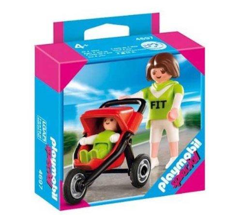 4697 - Mama mit Baby-Jogger