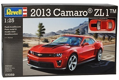 Chevrolet Chevy Camaro ZL 1 2013 Coupe Rot 07059 Bausatz Kit 1/25 1/24 Revell Modell Auto (Modell Chevy-kits)