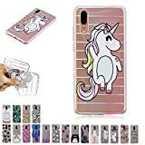 V-Ted Coque Apple iPhone XR Chat Licorne Silicone Ultra Fine Mince Bumper Housse Etui...