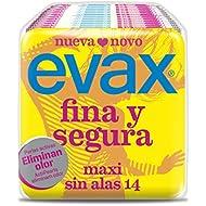 Evax Maxi Compresas Finas y Seguras - 14 Unidades