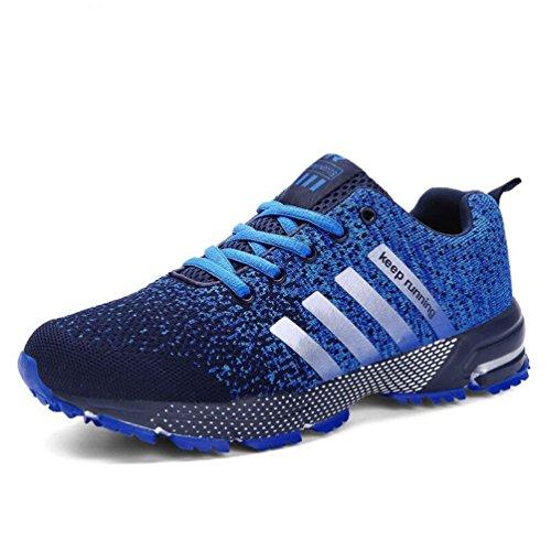 Männer Running Schuhe Mens Sneakers Atmungsaktive Air Mesh Schuhe Eva Athletic Frauen Sportschuhe