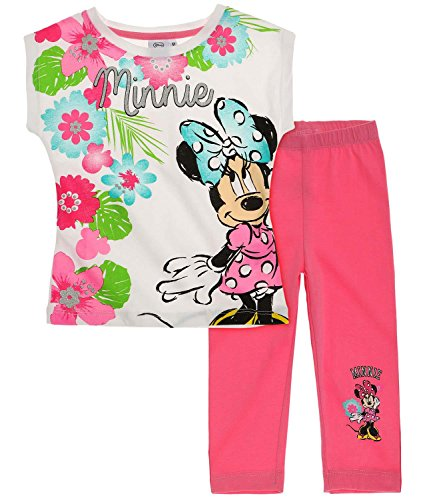 Disney minnie ragazze maglietta e leggins - fucsia - 128