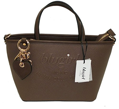Borsa BAULETTO due manici BLUGIRL by blumarine BG 829002 women handbag marrone