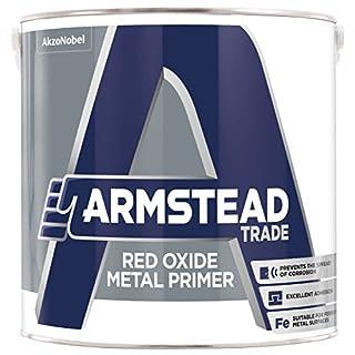 Armstead 5218649 Red Oxide Metal Primer, 2.5 Liter