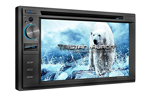 Tristan Auron BT2D6501 Autoradio | 6,5'' Touchscreen | Freisprechfunktion | USB/SD-Slot | AUX-Anschluss | CD/DVD | 2 DIN