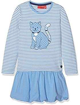 SALT AND PEPPER Mädchen Kleid Dress Amazing Stripe Katze