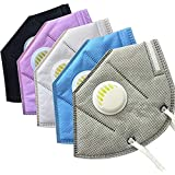 Avekin K-N95 Masks With Respirator With Air filter Washable Mask Pack Of 5 (Reusable)