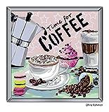 Ravensburger 29013 - Coffee - Malen nach Zahlen, 30 x 30 cm
