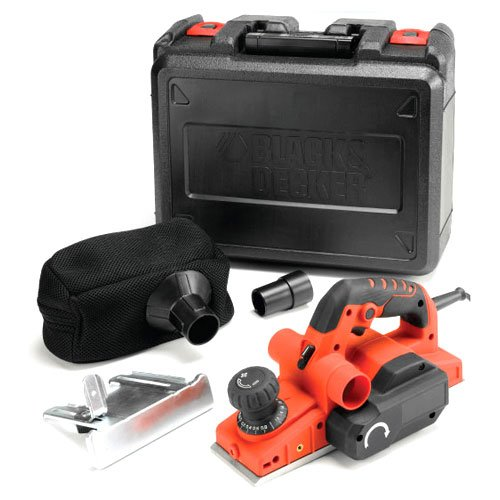 Precise Engineered Black & Decker SX-KW750K Electric Rebating Planer 82mm Width 750w 240v [Pack of 1] - w/3yr Rescu3® Warranty