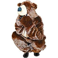 Braunbär-Kostüm, F67 Gr. L, Bären-Faschingskostüm, für Fasching Karneval Fasnacht, Karnevals-Kostüme für Männer und Frauen, Faschings-Kostüme, Geburtstags-Geschenk, Weihnachts-Geschenk