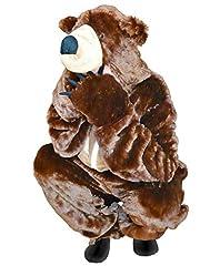 Idea Regalo - F67 L Orso bruno costume orso costume da adulto orsi costumi carnevale