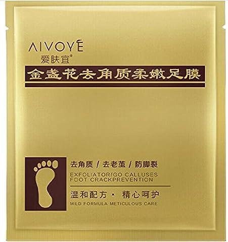 erthome Remove Dead Skin Foot Mask Peeling Cuticles Heel Feet Care Anti Aging (93)