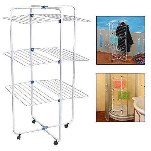 Top Home Solutions, Wäscheständer im Turm-Design