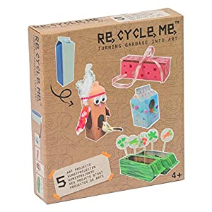 Re Cycle Me defg1040-Manualidades Diversión para 5Modelos