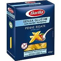Barilla Pasta Penne Rigate glutenfrei aus Reis und Mais – 1er Pack (1x400g)