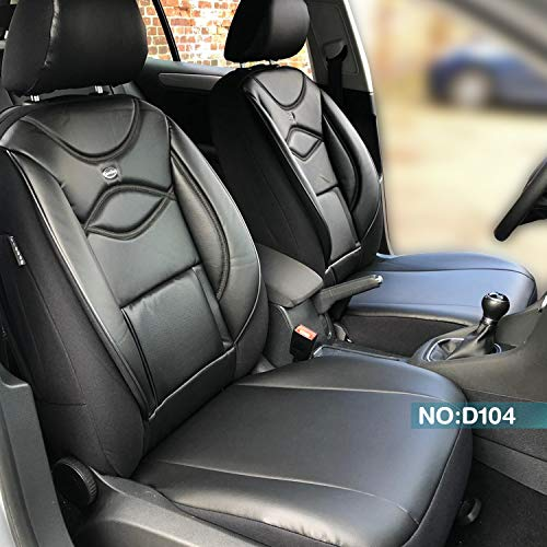 Maß Sitzbezüge Ford Ranger Fahrer & Beifahrer ab BJ 2015 Farbnummer: D104