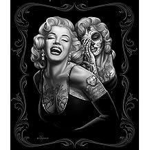 David Gonzales Art Smile Now Throw Blanket by David Gonzales Art