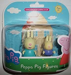 Peppa Pig Rebecca Rabbit & Richard Rabbit Twin Pack