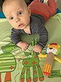 Blueberryshop Summer Collection cotone coperta per bambino/bambino piccolo, verde