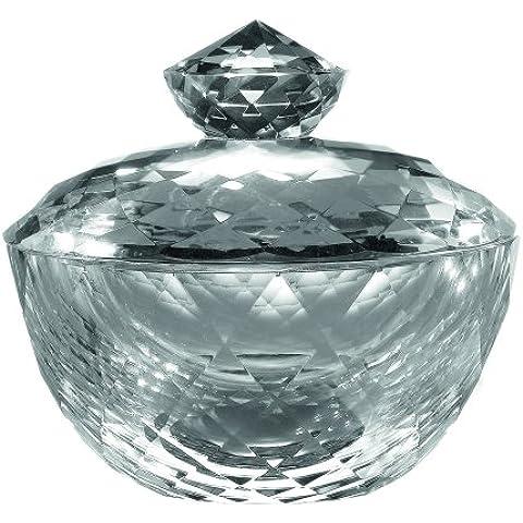 Royal Doulton Radiance Collection - Scatola portagioie in cristallo, 7,7 cm, colore: Trasparente