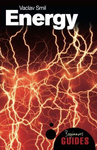 Energy: A Beginner's Guide (Beginner's Guides) por Vaclav Smil