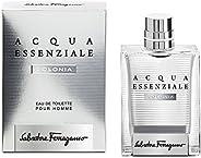 Salvatore Ferragamo Acqua Essenziale Colonia Eau De Toilette For Men, 100 ml