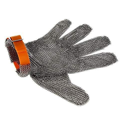 Euroflex Austernhandschuh Kettenhandschuh, Größe XL (4), orange, 1 St