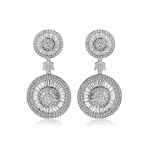 Clou d'oreille oreille claire neige nail fashion bijoux exquis earrings,Platinum