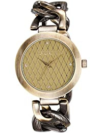 Madden Girl By Steve Madden Analog Grey Dial Women's Watch - SMGW013AS-GY