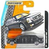MATCHBOX Cadillac One - Cadillac DTS Presidential State Car - Stretchlimousine / Stretch- Limo - 1:64 - schwarz
