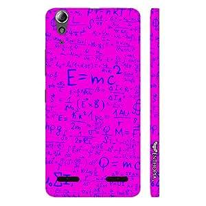 Lenovo 6000 Einstein Energy Pink designer mobile hard shell case by Enthopia