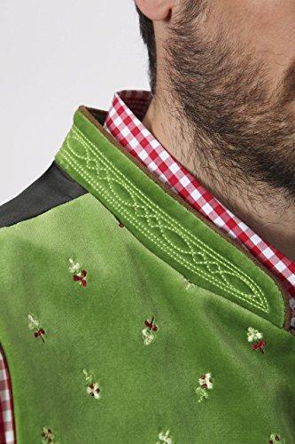 Stockerpoint - Herren Trachten Weste in verschiedenen Farbtönen, Calzado, Größe:56, Farbe:Hellgrün - 6