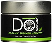 DoMatcha Green Organic Summer Harvest Green Tea, 2.82oz Tin