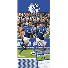FC Schalke 04 Fanplaner 2018 - Spaltenkalender, Familienplaner - 23 x 45,5 cm