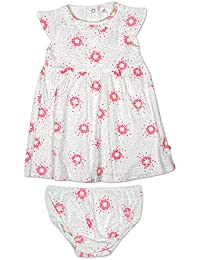 46182fc73573a Baby Girls Floral Teardrop Jersey Dress & Knickers Set Sizes from Newborn  to 12 Months