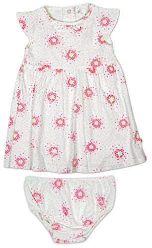 Baby Girls Floral Teardrop Jersey Dress & Knickers Set sizes from Newborn to 12 Months