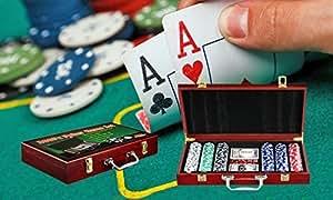 Yuva Casino Poker Chips Game Set with Wodden Box (200 Pc)