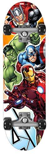 Stamp-Skateboard- Avengers-28x 8, av299310