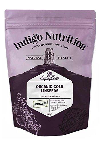 Indigo Herbs Bio Gold Leinsamen 500g