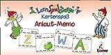 LernSpielZwerge Kartenspaß: Anlaut-Memo (48 Spielkarten)