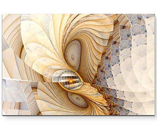 Abstraktes Bild – Muschelfarbene Textur