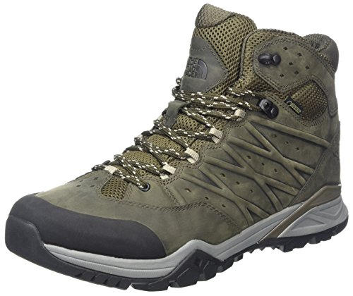 The North Face Hedgehog Hike II Mid Gore-Tex, Stivali da Escursionismo Alti Uomo, Verde (Tarmacgreen/Burntolivegrn 4Dd), 39 EU